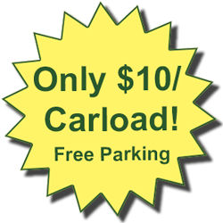 Only $10 per Carload!
